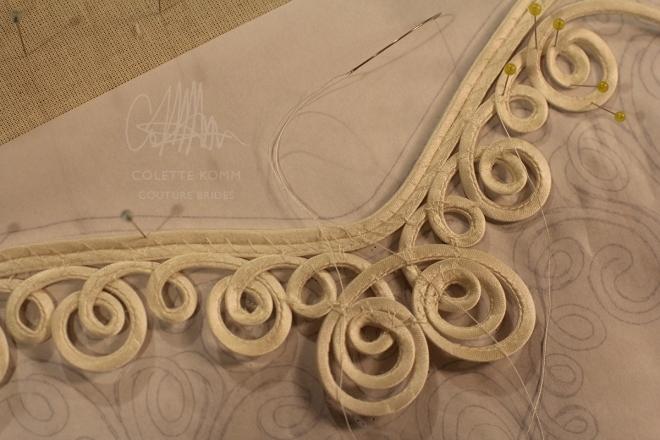 bias applique sewing