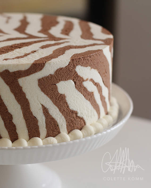 chocolate zebra cake 1