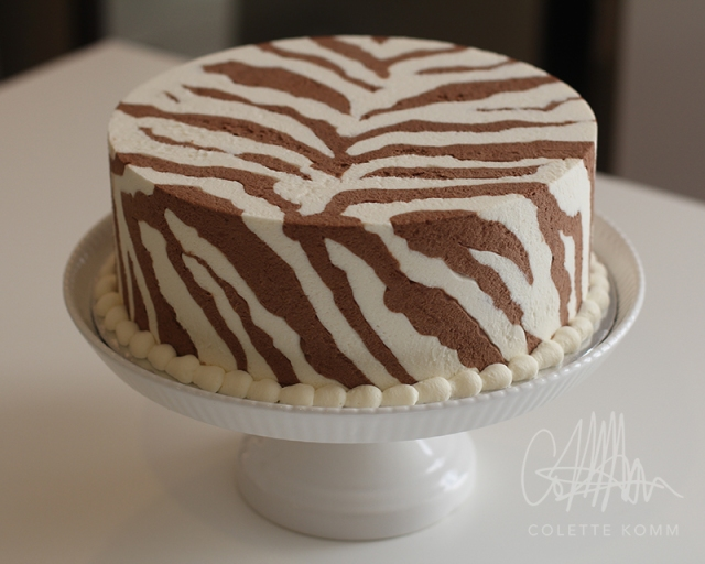chocolate zebra cake