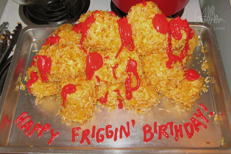 napoleon dynamite tater tot birthday cake