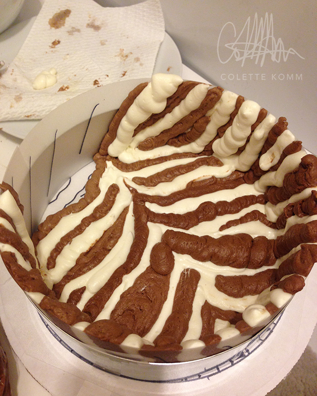 piping mousse